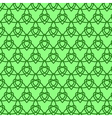 Celtic seamless pattern Colored with green vector image vector image