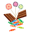 Chocolates Lollipops and Hard Candies