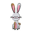 easter rabbit funny decoration animal season vector image vector image