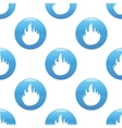 Fire sign pattern vector image vector image