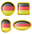 Germany flag icons vector image