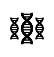 Pictogram of DNA vector image vector image