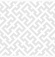 seamless diagonal grey labyrinth pattern texture vector image