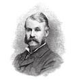 sir william gilbert vintage vector image vector image