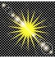 Summer Sun Background vector image