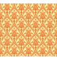 Vintage damask seamless background vector image vector image