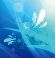 abstract underwater background vector image