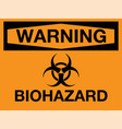 Biohazard icon warning biohazard symbol
