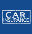 car insurance word vector image