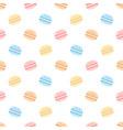 Cute macaron seamless pattern background
