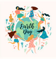 earth day template for different uses vector image vector image