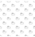 gift pattern seamless vector image vector image