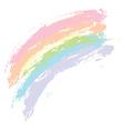 Grunge Rainbow3 vector image vector image