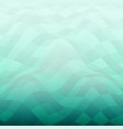 modern of nature green sea background vector image