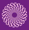 pattern circle vector image vector image