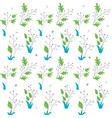 summer seamless pattern vector image vector image