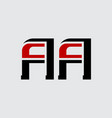 a and - initials or logo aa - monogram