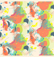 abstract seamless pattern in artistic style vector image