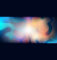 abstract vibrant gradient blurred background vector image