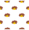 high powered explosion pattern seamless vector image vector image