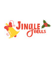 jingle bells sign icon vector image vector image