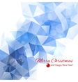 Modern winter abstract background vector image