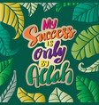 my success is only allah islamic quran quotes