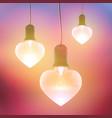 romantic festive bright template vector image vector image