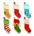 Traditional christmas xmas colorful stocks vector image