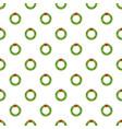 christmas wreath pattern seamless vector image