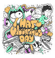 i hate valentines day greeting card vector image vector image