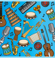 musical instruments icon vector image vector image