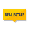 real estate price tag vector image
