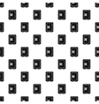 Safe pattern simple style vector image vector image