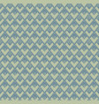 seamless repeated pattern in green and blue vector image vector image