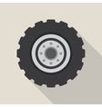 Transport car wheel drive service vector image