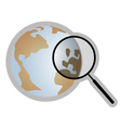 World search vector image vector image