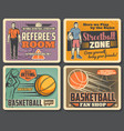 basketball sport club streetball tournament vector image vector image