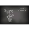 Byzantine Ornament Painted White Chalk vector image vector image