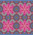 floral in asian textile elegance seamless pattern vector image