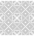 Geometrical seamless pattern with hearts vector image vector image