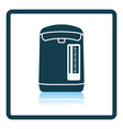 Kitchen electric kettle icon vector image vector image
