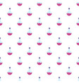 lab pink flask pattern seamless vector image