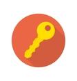 Modern key icon vector image vector image