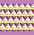 modern zig-zag seamless pattern vector image vector image