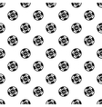 Poker chip nominal 10 pattern simple style vector image