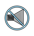 speaker sound off isolated icon vector image