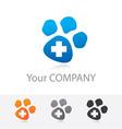 veterinary medicine vector image vector image