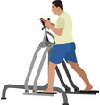 exercises vector image vector image
