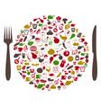 Food2 vector image vector image